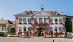 Hôtel de ville - English: Town hall of Riquewihr, Haut-Rhin, France