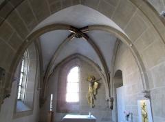 Eglise Saint-Arbogast, puis Notre-Dame de l'Assomption - Français:   Alsace, Haut-Rhin, Église Notre-Dame de l\'Assomption de Rouffach (PA00085638, IA68004432). Intérieur de la sacristie, Christ en croix (20e s.)