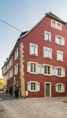 Maison - English:   Building at 4 rue de la Poterne in Rouffach, Haut-Rhin, France