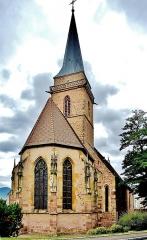 Eglise catholique Saint-Dominique - Français:   Eglise de Vieux-Thann, vue côté est.