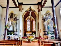 Eglise catholique Saint-Dominique - Français:   Chœur de l\'église