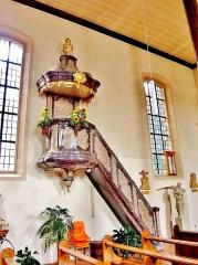 Eglise catholique Saint-Dominique - Français:   Chaire de l\'église