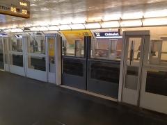 Métropolitain, station Châtelet -  Station de la ligne 1