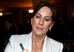 Cinéma Rex - English: Producer Kathleen Kennedy at the Paris premiere of