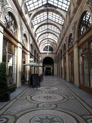Galerie Vivienne, anciennement appelée galerie Marchoux -  La galerie Vivienne