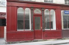 Boutique - Deutsch: Geschäft, 13 rue Michel-le-Comte, im 3. Arrondissement in Paris (Île-de-France/Frankreich), Schaufenster