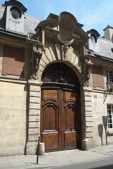 Hôtel d'Almeyras (ancien hôtel de Fourcy) - Deutsch: Hôtel d'Almeyras in der Rue des Francs-Bourgeois Nr. 30 im 3. Arrondissement in Paris (Frankreich), Portal