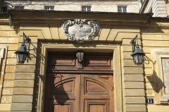 Hôtel du Lude ou de Chatillon - Deutsch: Hôtel du Lude (Hôtel de Châtillon), 13 rue Payenne, im 3. Arrondissement in Paris (Île-de-France/Frankreich)