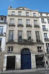 Hôtel de Pologne - Deutsch: Hôtel de Pologne, 65 rue de Turenne, im 3. Arrondissement in Paris (Île-de-France/Frankreich)