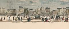 Passage Vendôme et immeubles -