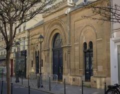 Synagogue - Français:   Façade de la Synagogue Nazareth, au 15 rue Notre-Dame de Nazareth (Paris 3ème)