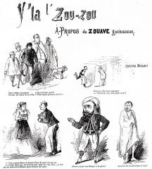 Théâtre Dejazet -  Caricatures