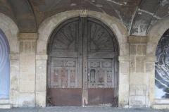Hôtel Coulanges - Deutsch: Hôtel Coulanges, 1bis Place des Vosges, im 4. Arrondissement in Paris (Île-de-France/Frankreich), Tür