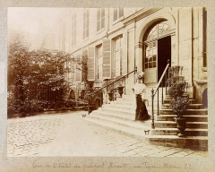 Hôtel du Président Hénault (ou Hainault) de Cantorbe - English: Planche n 39 de l'album.