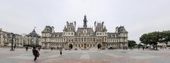 Hôtel de ville - German amateur photographer, wikipedian and mathematician