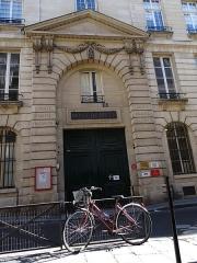 Immeuble du Crédit Municipal -  Mont de Piété - Crédit municipal de Paris - Entrée historique, rue des Blancs-Manteaux