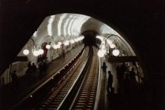 Métropolitain, station Cité -  Métro station in Paris
