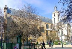Monastère des Blancs-Manteaux - English: Notre-Dame-des-Blancs-Manteaux church - Paris