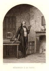 Prison de la Force (restes de la) - French engraver