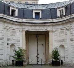 Hôtel Chéret ou Akermann - Français:   Hôtel Chéret portail cour vers la rue