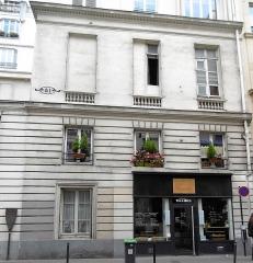 Maison ou ancien hôtel de Raguse - Français:   hôtel de Raguse aile droite