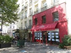 Porte Saint-Martin - Français:   Emplacement panneau Histoire de Paris «Porte Saint-Martin» situé 2 rue du Faubourg-Saint-Martin