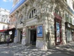 Théâtre de la Renaissance - Français:   Emplacement panneau Histoire de Paris «Théâtre de la Renaissance» situé 20 boulevard Saint-Martin