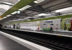 Métropolitain, station Richard-Lenoir - Español: La estación de Richard Lenoir en 2019