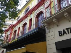 Ancien café-concert Le Bataclan - English: Bataclan, Boulevard Voltaire, Paris, France, October 2019
