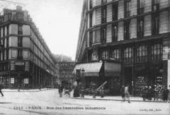 Immeubles -  Rue des Immeubles-Industriels - View of 1900.