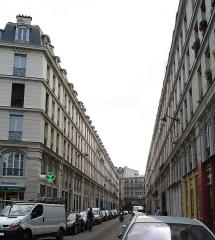 Immeubles -  Rue des Immeubles-Industriels -near Place de la Nation in Paris- General view
