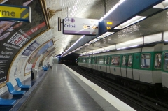 Métropolitain, station Daumesnil -  Station de métro Daumesnil, ligne 8 du métro de Paris - Paris, France