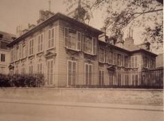 Hôtel de Massa, actuellement siège de la Société des Gens de Lettres - French photographer, artist and architectural photographer