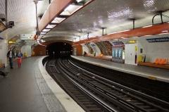 Métropolitain, station Denfert-Rochereau -  Denfert Rochereau metro station, Paris.