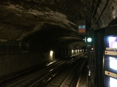 Métropolitain, station Denfert-Rochereau -  Indicateur AA_HS