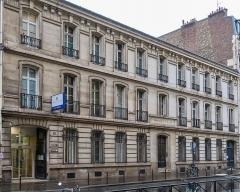 Institut Pasteur - Français:   Hôpital de l\'Institut Pasteur, fondation Mme Jules Lebaudy, 213 rue de Vaugirard (Paris, 15e).