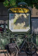 Métropolitain, station Porte-d'Auteuil -  Paris