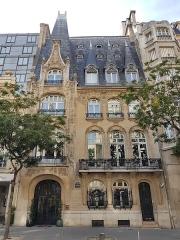 Ancien hôtel Pauilhac - Deutsch: Historistisches Gebäude in Paris-Challoit