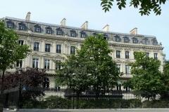 Hôtel de Günsburg - Français:   Un des hôtels des Maréchaux de la rue de Tilsitt - Façade sur la place Charles-de-Gaulle