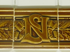 Métropolitain, station Abbesses - English: Monogram