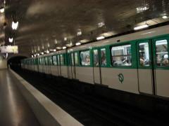 Métropolitain, station Blanche -  Paris - metro