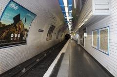 Métropolitain, station Pré-Saint-Gervais - Français:   Station de métro Pré Saint-Gervais, Paris.