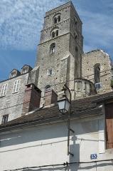 Tour de Saint-Thugal - Deutsch: Romanischer Turm der Kirche Saint-Thugal in Château-Landon im Département Seine-et-Marne (Region Île-de-France/Frankreich)