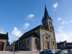 Eglise -  Guignes, église