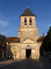 Abbaye Saint-Pierre - English: St Peter's Abbey Church, in Lagny-sur-Marne, Seine-et-Marne, Île-de-France region.