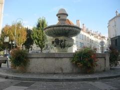 Fontaine Saint-Furcy -  Fontaine Saint-Fursy à Lagny-sur-Marne.