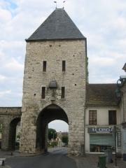 Portes de Paris et de Bourgogne -  Moret-sur-Loing, Seine-et-Marne, France: Porte de Samois