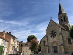 Eglise Saint-Martin - Français:   Eglise paroissiale de Louveciennes