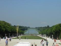Domaine national de Versailles - Français:   Grand canal au château de Versailles (Yvelines, France).