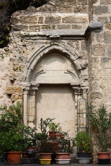 Eglise Saint-Clément - Deutsch: Katholische Pfarrkirche Saint-Clément in Arpajon im Département Essonne (Île-de-France), ehemaliges Südportal